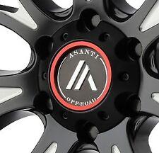 Asanti AB807 Center Cap 130L1456SB-H42 Black fits 6x5.5 Chevy Nissan GMC Cadilla