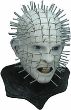 Hellraiser III Deluxe Pinhead Latex Adult Mask w Cowl Horror Halloween
