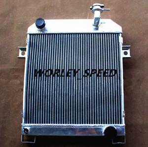 Aluminum Rradiator For JAGUAR MK2 2.5 DAIMLER V8 1962-1967 56mm 63 64 65 66