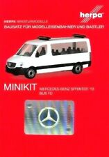HERPA Modell 1:87/H0 MINIKIT Mercedes Sprinter ´13 Bus FD weiß Bausatz #013680