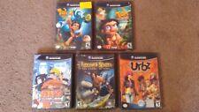 5 Nintendo Gamecube Games Tak 2 Power of Juju Naruto Prince of Persia Urbz Sims!