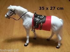 figurine cheval blanc, objet de décoration, collection, Barbie *G