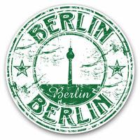 2 x Vinyl Stickers 7.5cm - Berlin Germany German Travel Europe Cool Gift #5763