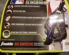 Franklin Mlb Youth Multi-Purpose Slingbak Baseball / Softball Helmet Bag Black