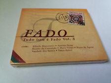 "CD ""FADO TUDO ISTO E FADO VOL 3"" CD 14 TRACKS PRECINTADO SEALED ALFREDO MARCENEI"