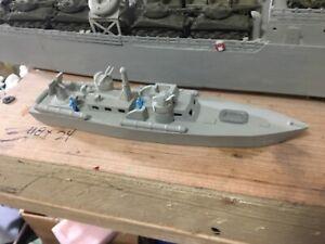 N Scale P T boat waterline 3 d print Unpainted. Navy Military