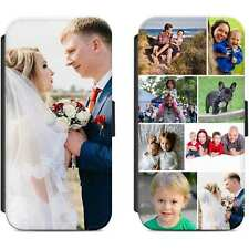 Personalised Photo Flip Case Phone Cover Picture Image For iPhone Samsung Huawei