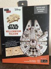 IncrediBuilds Millennium Falcon Book and Model set new