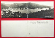 Klapp Foto AK Klappkarte ITALIEN um 1910 Panorama von Rappallo   ( 12698