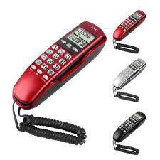 US Home Office Corded Telephone Caller ID Wall Desktop Landline Handset Phone
