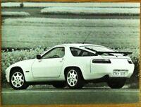 PORSCHE 928 GT PRESS PHOTOGRAPH CIRCA 1990 BLACK & WHITE