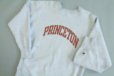 Vintage 80's Princeton CHAMPION Revers Weave WARMUP Worn To Perfection  Size XL