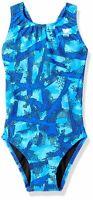 TYR Womens Swimwear Blue Size 26 Vesuvius Maxfit Durafast One-Piece $55 265