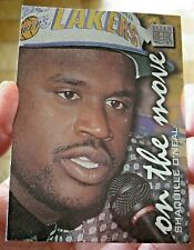 nba FLEER METAL 96 97 on the move SHAQUILLE O'NEAL LOS ANGELES LAKERS MINT