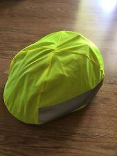 Waterproof Helmet Cover Unisex Hi Viz Flourescent NEW UK