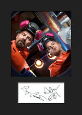 BREAKING BAD #3 A5 Signed Mounted Photo Print - FREE DELIVERY
