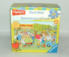 2011 Ravensburger Highlights That's Silly 60 Piece Farm Jigsaw Puzzle COMPLETE