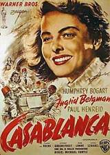 Casablanca German Single Sided Poster