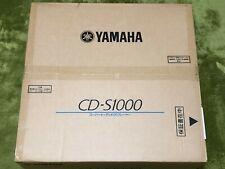 YAMAHA CD-S1000 CD Player RCA Connection Exclusive SA-CD Compatible Silver F/S