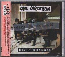 One Direction: Night Changes (2014) CD SINGLE OBI TAIWAN + FOLDED POSTER