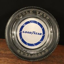 Vintage Tire Ashtray Good Year Eagle VR50 Advertising Rubber PRIORITY MAIL