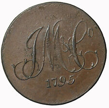 1795 Middlesex Whitfield Great Britain Halfpenny Conder Token D&H-911b