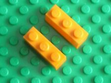 2 x LEGO Orange Brick 1 x 3 Ref 3622 Set 4723 5369 6573 4781 6187 7907 7642 4421