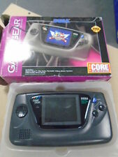SEGA GAME GEAR COLOR PORTABLE VIDEO GAME SYSTEM with Original Box