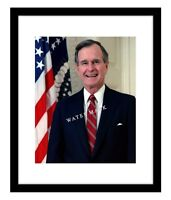President George HW Bush 8x10 Photo Print Official Portrait USA Republican