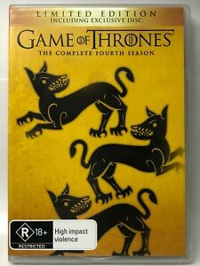 Game of Thrones - Complete Fourth Season - 6 DVD Set - AusPost with Tracking