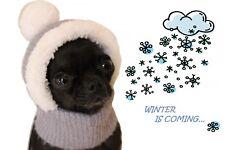 Tg S – Pet Fashion Cappello Invernale Caldo Peluche per Cane di Piccola Taglia
