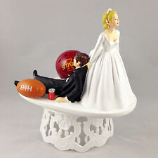 Funny Wedding Cake Topper College Football Themed Iowa State Cyclones Humrous