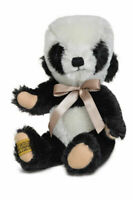 """BNWT *Limited Edition Of 100* Dinkie Little Panda 7"""" Merrythought Handmade Teddy"""