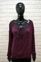 Maglione MAX & CO Donna Taglia L Pullover Cardigan Sweater Woman Viola Cashmere