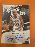 2019-20 Court Kings Jacque Vaughn Brush Strokes AUTO AUTOGRAPH 64/179 SPURS