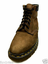 Dr Martens Made in England Safety Hiking Work Brown Boots Size 7 UK.
