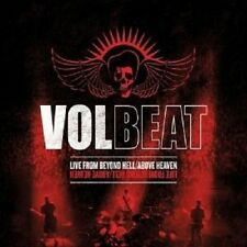 """VOLBEAT """"LIVE FROM.../ABOVE...(LTD.DELUXE)"""" CD+2 DVD NEW+"""