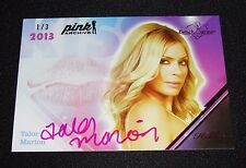 2015 Benchwarmer TALOR MARION Pink Archive 2013 KISS Auto/3 PLAYBOY Fast Furious