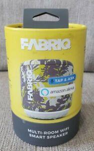 FABRIQ Portable Multi Room WIFI and Bluetooth Smart Speaker w/Amazon Alexa