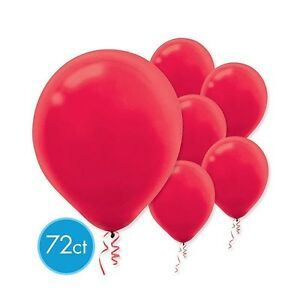 """72 Latex 12"""" Balloons Wedding Birthday Party Decorations ~ U PICK COLOR ~ Amscan"""