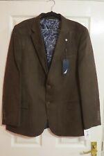 Nautica the Brandford Ultra Suede jacket brown 46R blazer