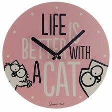 Life is Better With A Cat Simon's Cat Picture Clock