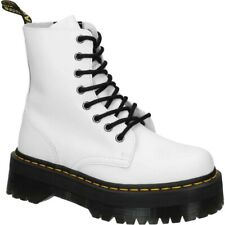 Dr. Martens Jadon White Smooth Platform Boot SZ US 9Mens 10 Womens UK42 SOLD OUT