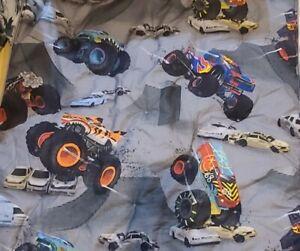 1 Pottery barn kid hot Truck Trucks wheels PILLOW Sham Cover Euro car boy toy