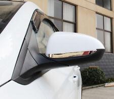 Chrome Side Mirror Stripe Cover Trim 2pcs for Hyundai Accent Solaris Verna 18-19