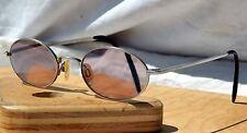 Vintage ESPRIT Prescription Eyeglasses Brushed Silver Metal Frames 48 20 135