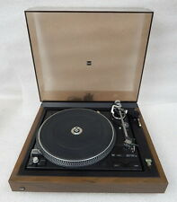 Vintage Dual 1257 automatic belt drive turntable works Germany