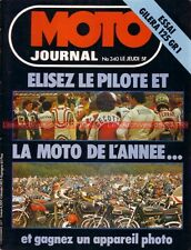 MOTO JOURNAL  340 SACHS 250 MX ; GILERA GR1 Vic ; Circuit RUNGIS 1977