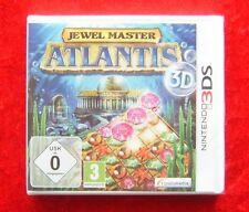 Jewel Master Atlantis 3D, Nintendo 3DS Spiel, Neu, deutsche Version