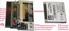 ADATTATORE DI IDE A CF CARD MICRODRIVE CF CARD ADATTATORE COMPACT FLASH CF NUOVO